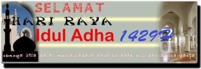 Selamat Hari Raya Idul Adha 1429